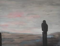Birgitte Nora Frandsen. 1948- . Painting  (Vision )